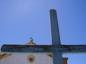 Cruzes da Capela São Sebastião (foto: Felipe Obrer)