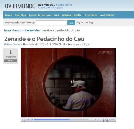 Zenaide e o Pedacinho do Céu - publicado no banco de cultura do Overmundo