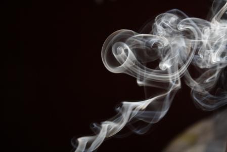 Fumaça (fotografia de Felipe Obrer)
