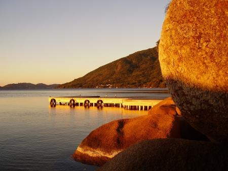 Amanhecer na Costa da Lagoa (foto: Felipe Obrer)