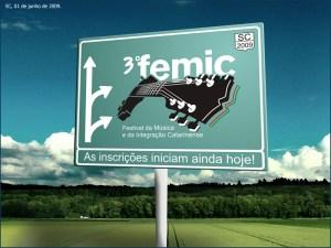 FEMIC (Festival da Música e Integração Catarinense) (Divulgação - todos os direitos reservados)