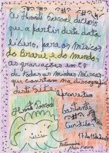 Hermeto Pascoal - declaração de licenciamento (fonte: www.hermetopascoal.com.br)