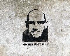 Michel Foucault - Stencil (foto: biphop / Veró)