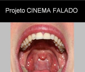 Projeto Cinema Falado (imagem criada por Felipe Obrer a partir de fotografia de Tim Britton licenciada em Creative Commons)
