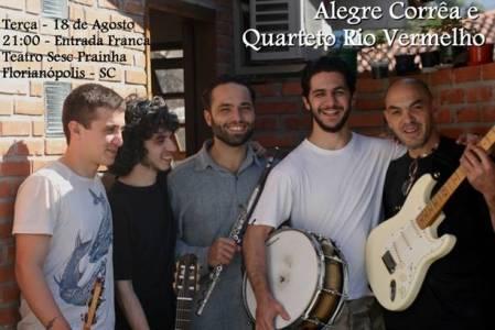 Quarteto Rio Vermelho e Alegre Corrêa (Divulgação)